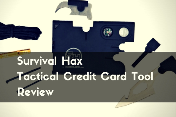 Survival Hax Tactical Credit Card Tool Review