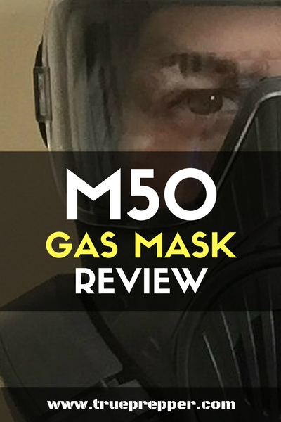M50 Gas Mask Review