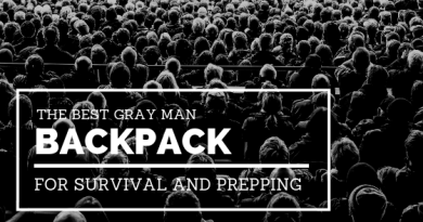 The Best Gray Man Backpack for Survival and Prepping