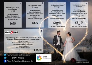 Wedding photographer longest in wrexham