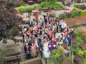 The full group shot - always a favourite and the rain kept off long enough for us to capture it perfectly