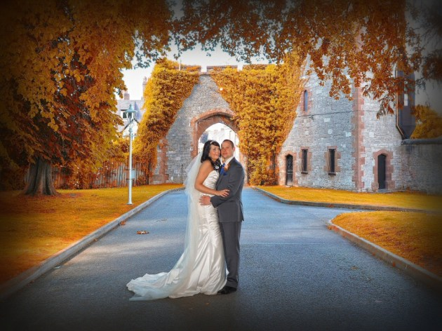Stunning colours in this shot at Ruthin Castle