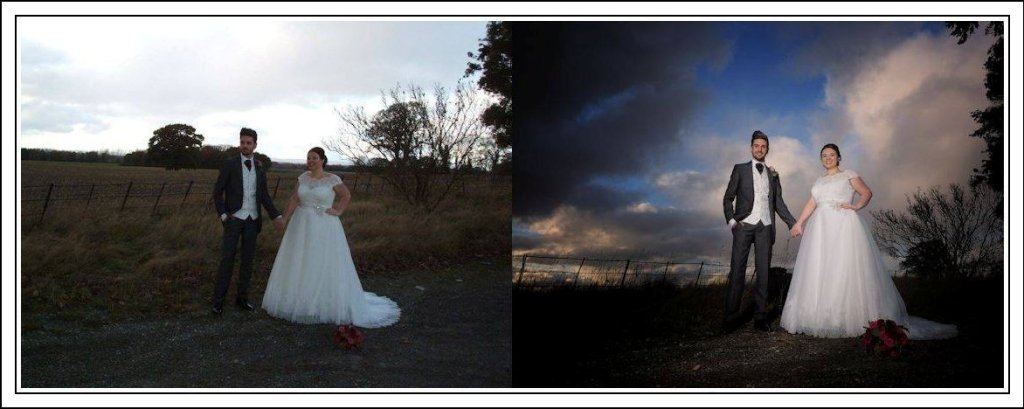 Training to become a professional wedding photographer