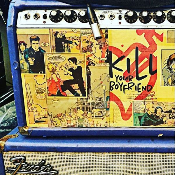 Now that's an eye catching #guitar #amplifier! #killyourboyfriend
