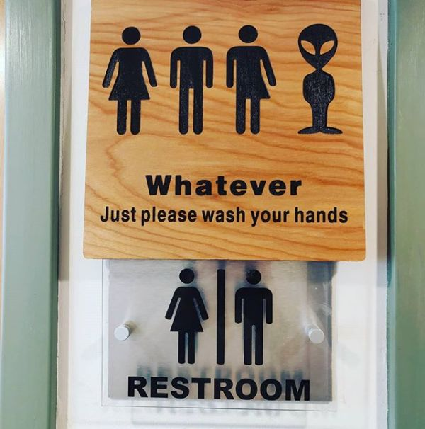 Keeping the focus on what's important.... #washyourhands