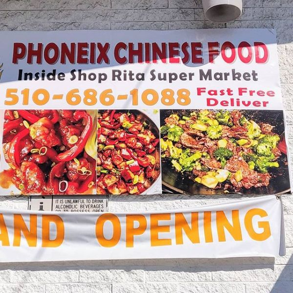"""Is that pronounced """"phoney Chinese food""""?"""