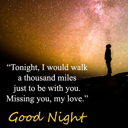 missing you messages (gud night dp)