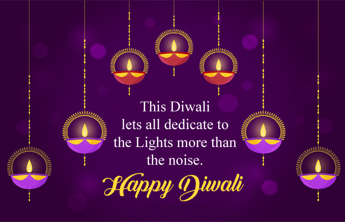 Beautiful Happy Diwali Images with Lamps