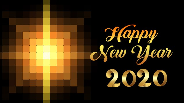 Happy New Year 1920x1080 Wallpaper Size 1 - Happy New Year 2020 Wallpaper, HD Greetings