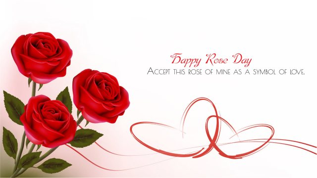 Rose Day Quotes on Wallpaper