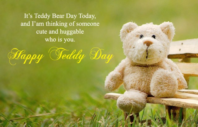 Beautiful Cute Teddy Day Whatsapp Images - Cute Happy Teddy Day Images for Whatsapp