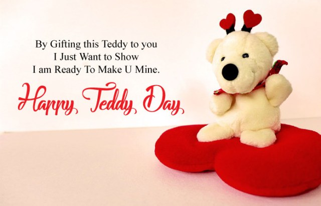 Happy Teddy Day - Cute Happy Teddy Day Images for Whatsapp