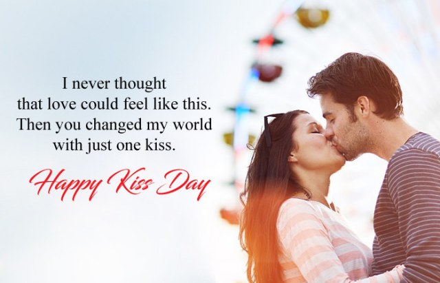 Kiss Day Images with Quotes