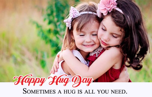 Sweet Hug Day Photos for Friends