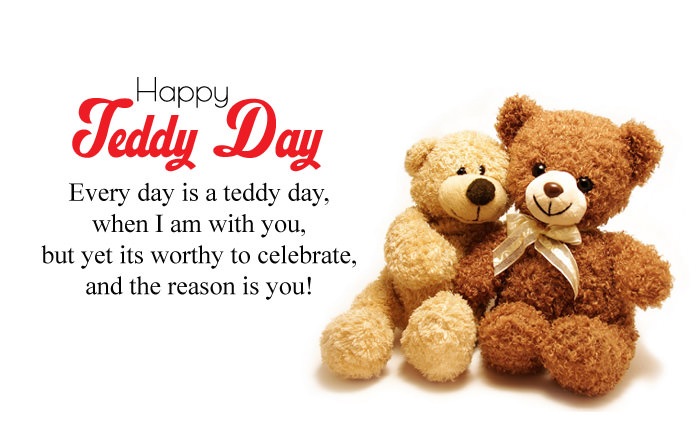 Teddy Day Images with Quotes