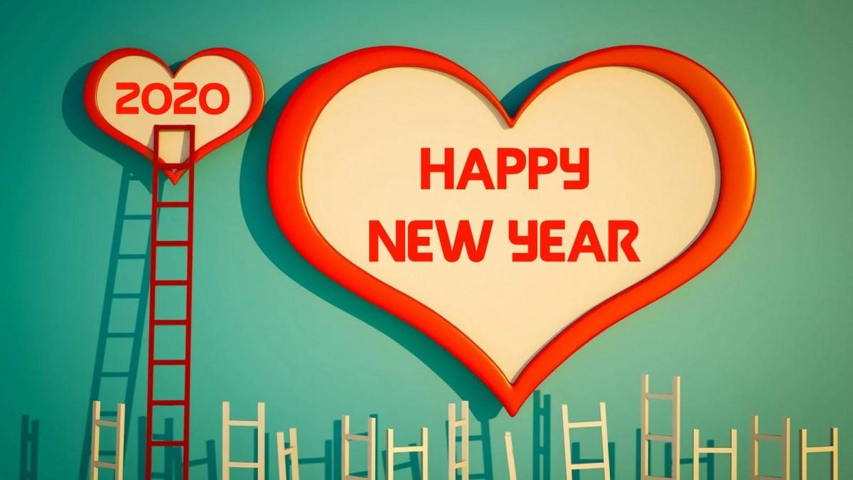 Happy New Year 2020 Love Wallpaper