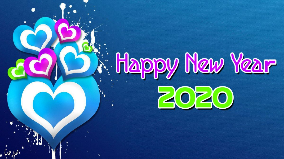 Multi Color Happy New Year HD Pictures