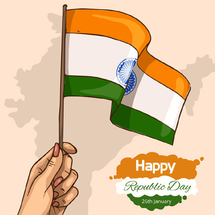 Indian Flag DP for 26th January