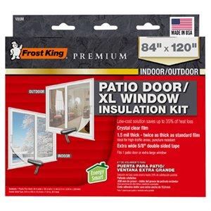 patio door insulation kit heavy duty 84 x 120 in