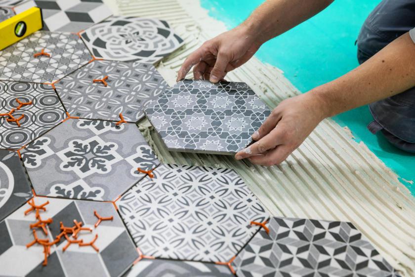 how to tile your bathroom diy true