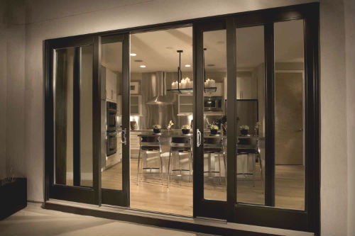 your sliding glass door