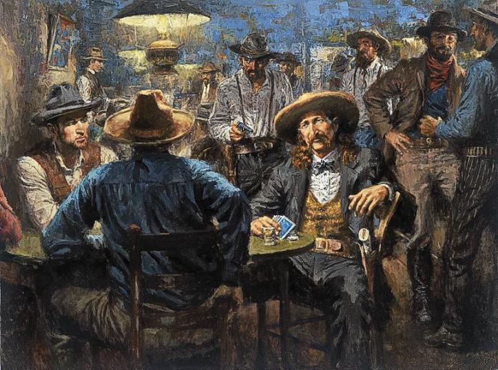 Resultado de imagen para Wild Bill Hickok murder