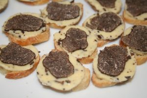 Toasts aux Truffes