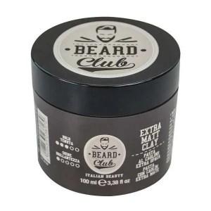 Beard Club Extra Matt Clay - Экстра-матовая паста с белой глиной