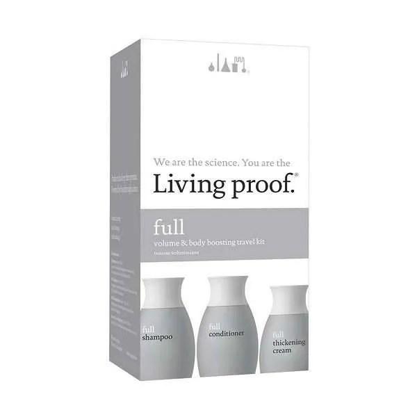 Living Proof Full Travel Kit With Thickening Cream - Дорожный набор для объема волос