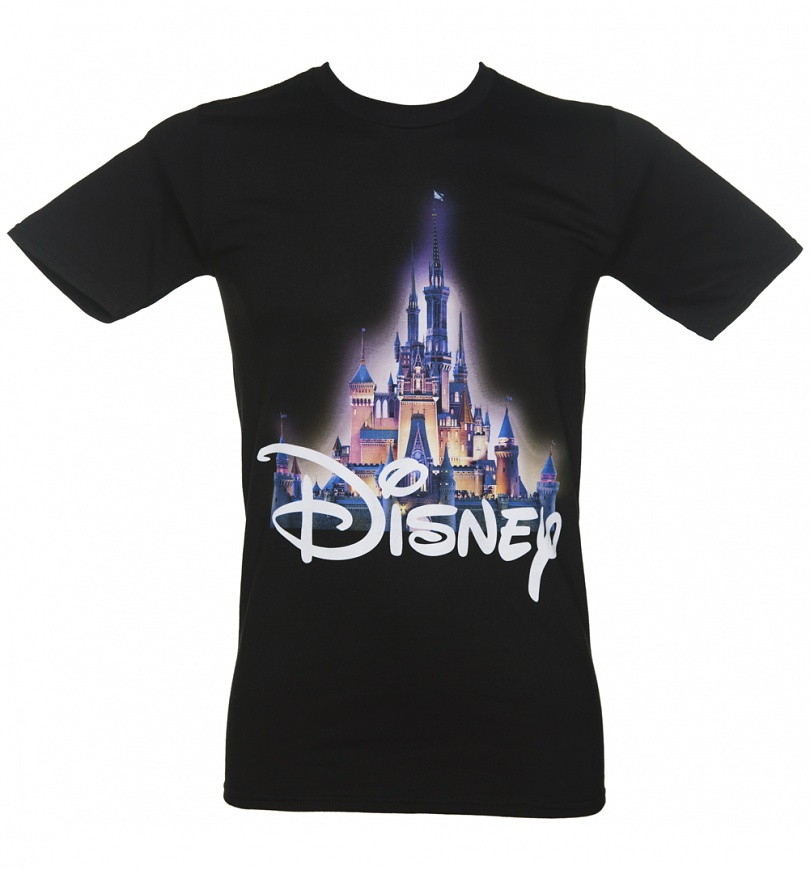 Mens Disney Castle T Shirt