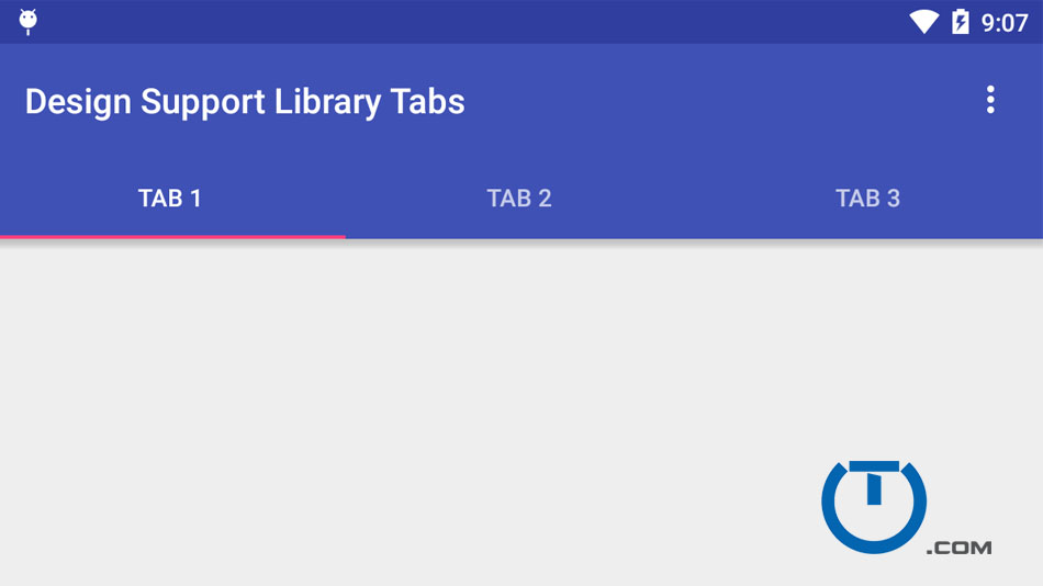 Android Tabs Example With Fragments And Viewpager Truiton