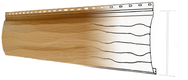 Installation Accessories Steel Log Siding