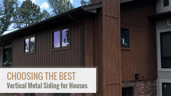 vertical metal siding for houses