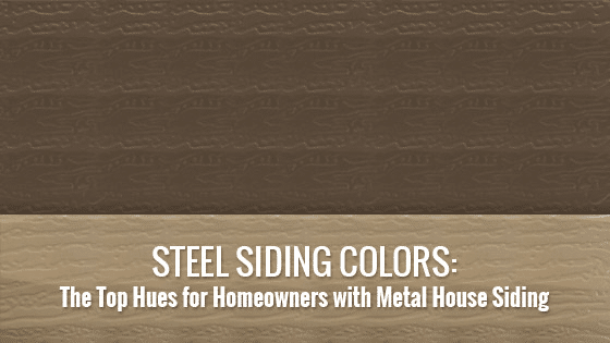 Steel Siding Colors
