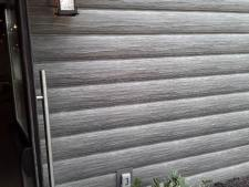 Weathered Gray Log Siding