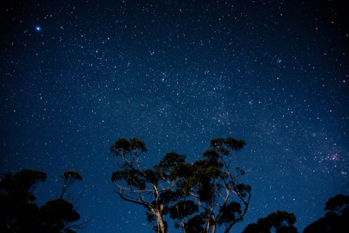 Australia's sky at night