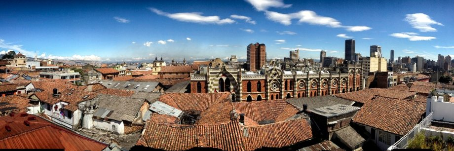 A bright, dry day in Bogotá. ©2013 Chris Allbritton