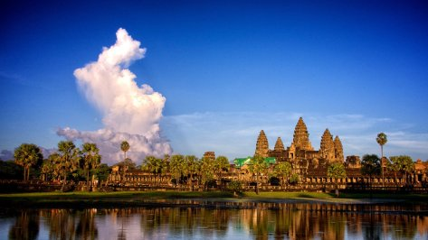 Angkor Wat in the late afternoon