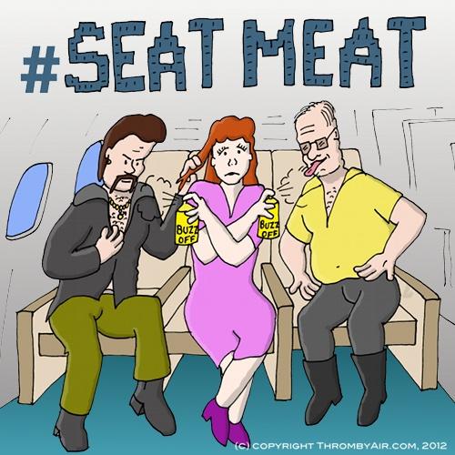 Vem vill du sitta bredvid på flyget?