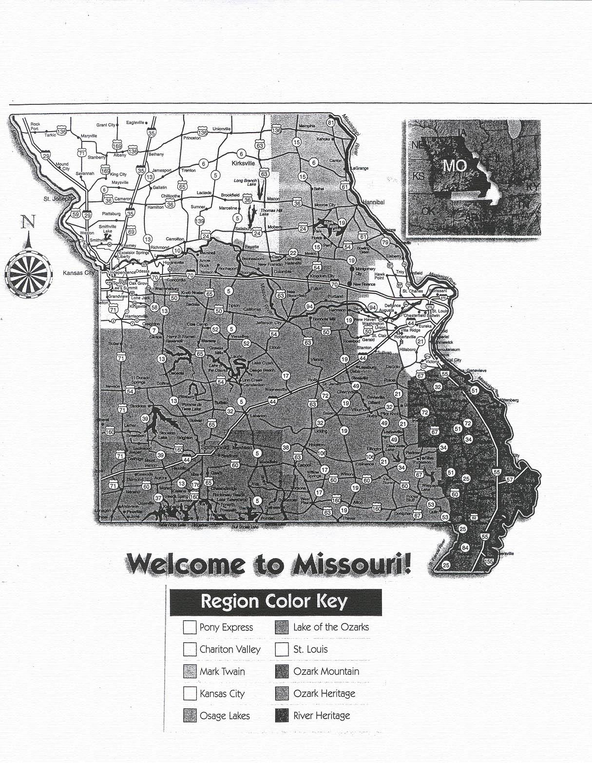 Missouri Vacation Learning Unit