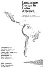 Landscape Design in Latin America: Unpacking Theory, Practice, and Agency
