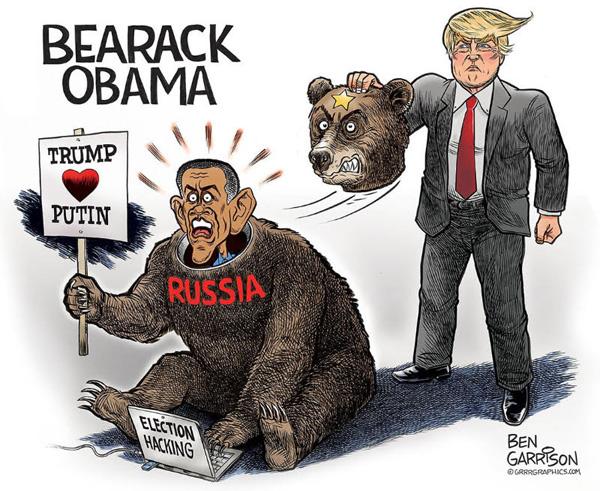 Image result for cartoons obama surveillance of trump