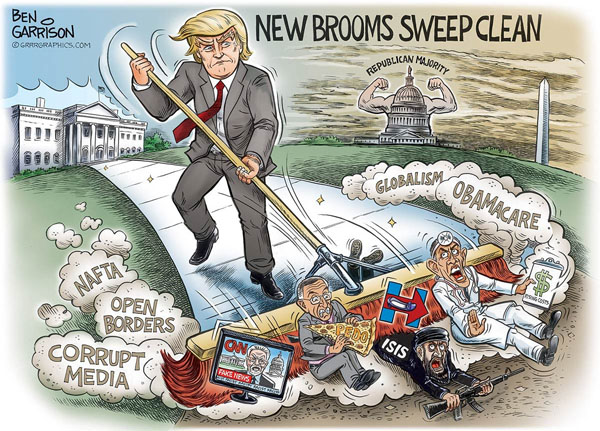 Image result for branco 2017 cartoons on trump inaugration