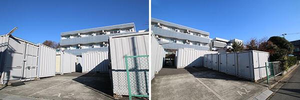 松戸市コンテナ型トランクルーム