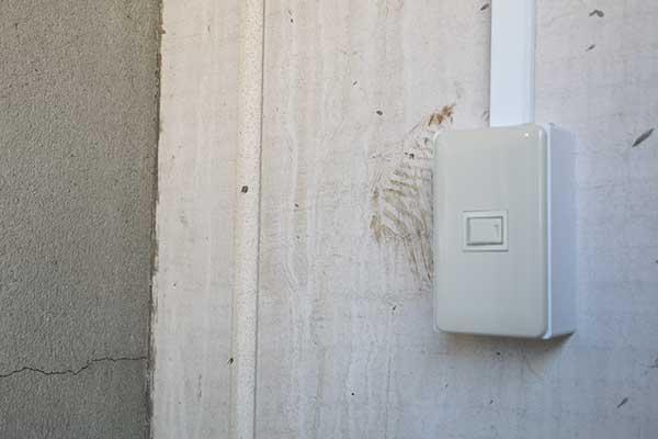 トランクルーム西大口店 電気スイッチ