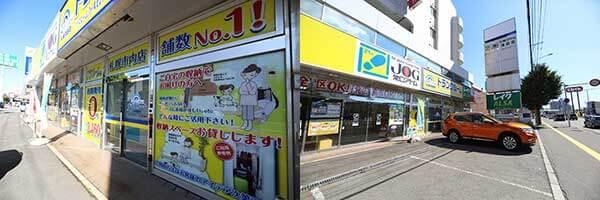 札幌清田店 駐車スペース