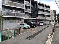 トランクルーム広島高須店順路4