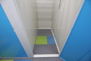 札幌手稲本町店屋内型トランクルーム内部