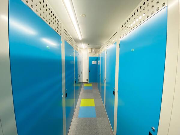 屋内型トランクルーム札幌西区