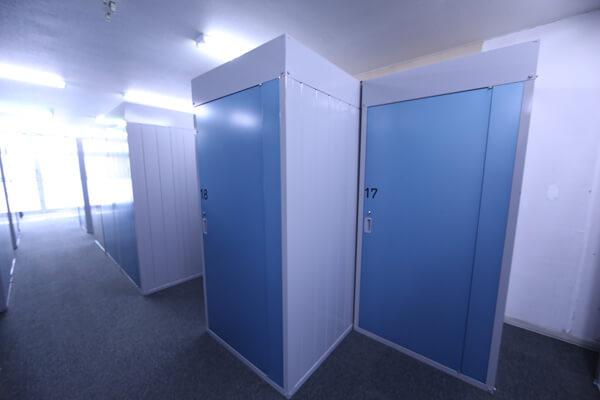 厚別区のトランクルーム